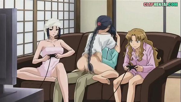 Hentai gostosas transando com novinho sortudo