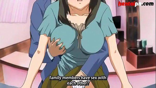 Hentai morena muito gostosa fazendo sexo com filho